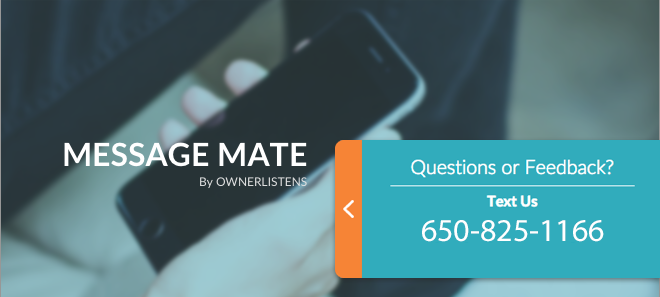 Message Mate By OwnerListens - Simple widget, powerful results