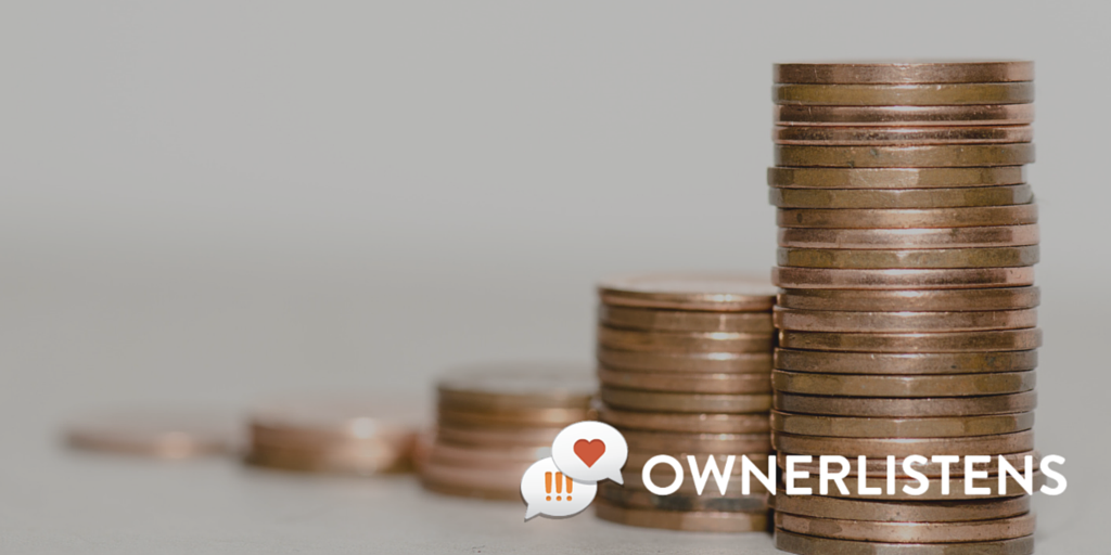 OwnerListens Identifying ecurring customer needs can increase revenues. Stacks of tokens