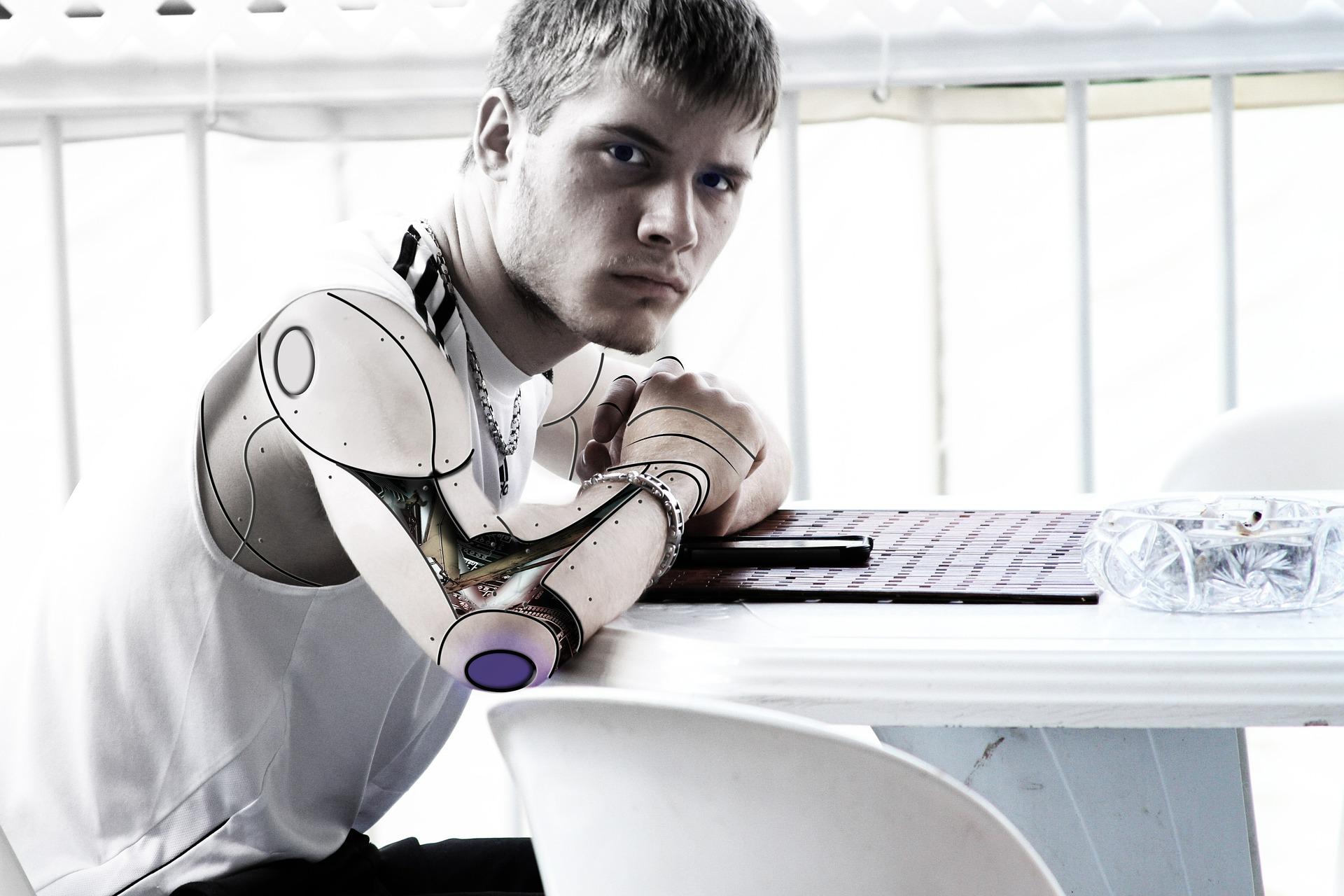 Human Chat Bots Mix