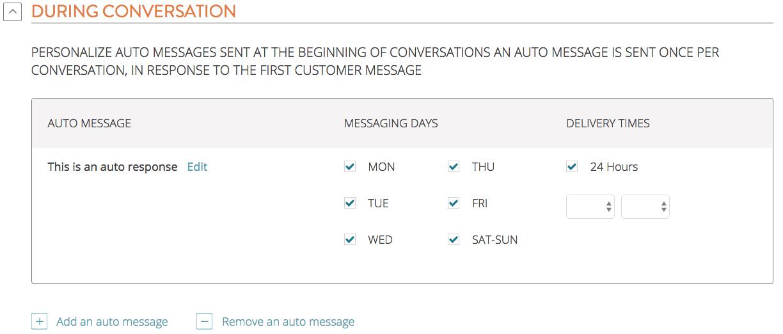 auto response ownerlistens